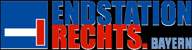 Logo von Endstation Rechts. Bayern