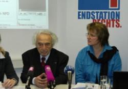 Natascha Kohnen, Max Mannheimer, Carolin Braun und Rüdiger Löster