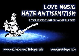 Motiv 3: Love Music - Hate Antisemitism