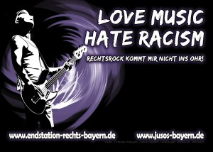 Love Music Hate Rascism
