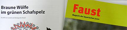 """""""Faust"""", die Zeitung der Jusos Bayern"""