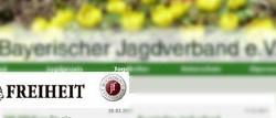 """Fotomontage: Bayerischer Jagdverband wirbt mit Probeabo der """"Jungen Freiheit"""""""