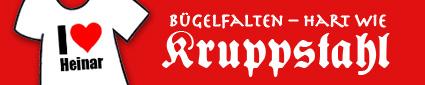 Storch Heinar: Bügelfalten - hart wie Kruppstahl - Link öffnet in neuem Fenster