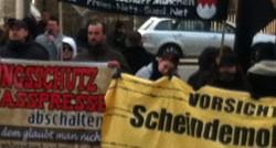 Neonazi-Aufmarsch in Schwandorf (Foto: Endstation Rechts. Bayern)