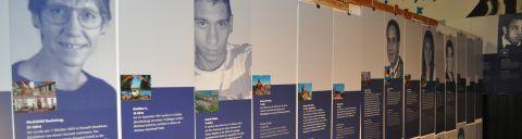 """Ausstellung """"Opfer rechter Gewalt"""""""