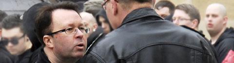 In der Kritik der bayerischen Neonazi-Kameradschaften: NPD-Landeschef Ollert