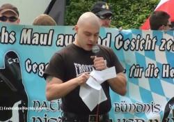 Statzberger bei seiner Rede