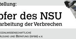 """Ausstellung """"Die Opfer des NSU"""""""
