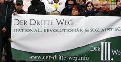 """Neue Nazi-Partei: """"Der Dritte Weg"""""""