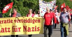 Demonstration in Scheinfeld