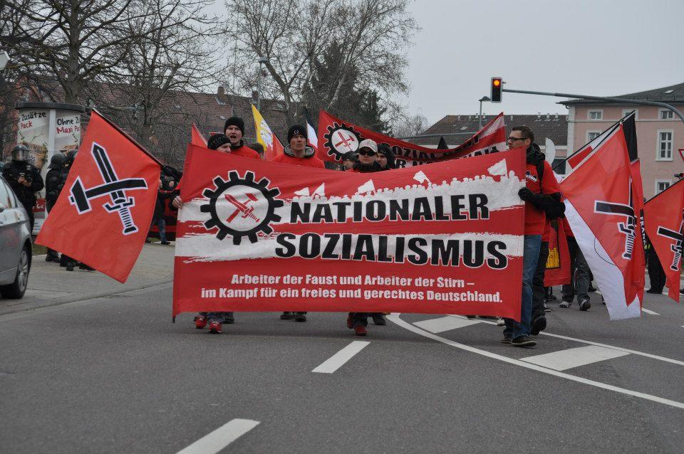 FNS Kundgebung Kitzingen
