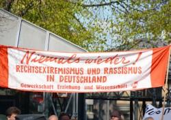 Banner der GEW