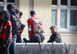 Am Gleis gestrandete Neonazis, Mitte Norman Kempken