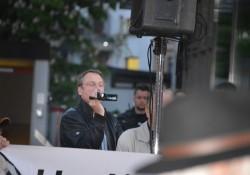 """Stürzenberger nahm als """"Pegida unterstützender Journalist"""" teil"""
