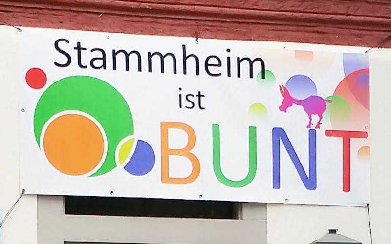 """Motto """"Stammheim ist bunt"""""""
