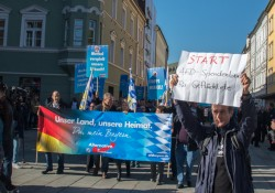 AfD-Demonstration in Passau