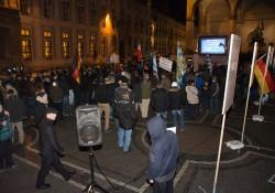 Pegida-Beteiligung vor der Demonstration