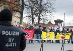 Blick auf die Kundgebung