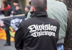 Einige wenige Teilnehmer aus Thüringen