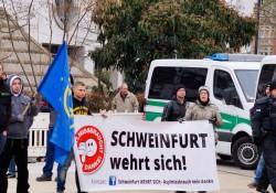 Banner aus Schweinfurt