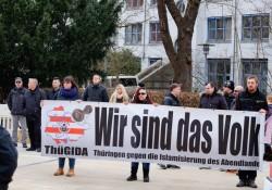 Thügida-Banner