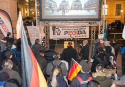 Pegida blickt auf Video über Italien