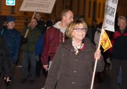 Vorsitzende des Münchner Pegida-Vereins, Birgit Weißmann