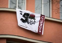 Banner der Jusos Nürnberg