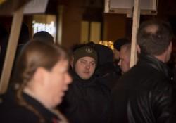 Rechtsterrorist Karl Heinz Statzberger mit Parteisymbolik