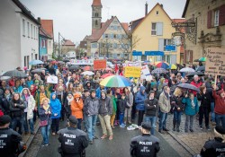 2016-04-16 Protest in Eckental gegen die NPD
