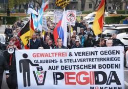 Pegida München am 02. Mai mit dem neuen Logo