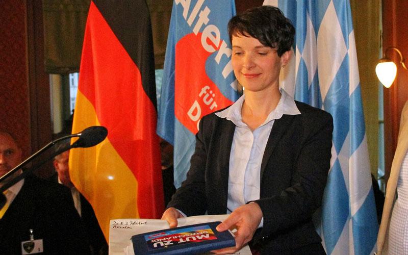Frauke Petry im Hofbräukeller