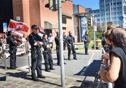 15 Neonazis aus drei (!) rechten Organisationen demonstrierten durch Nürnberg